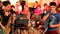 Monségur Collège Eléonore de Provence (4° classe option jazz)