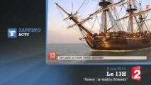 Armada 2013 : les plus beaux voiliers et navires de guerre du monde se donnent rendez-vous à Rouen