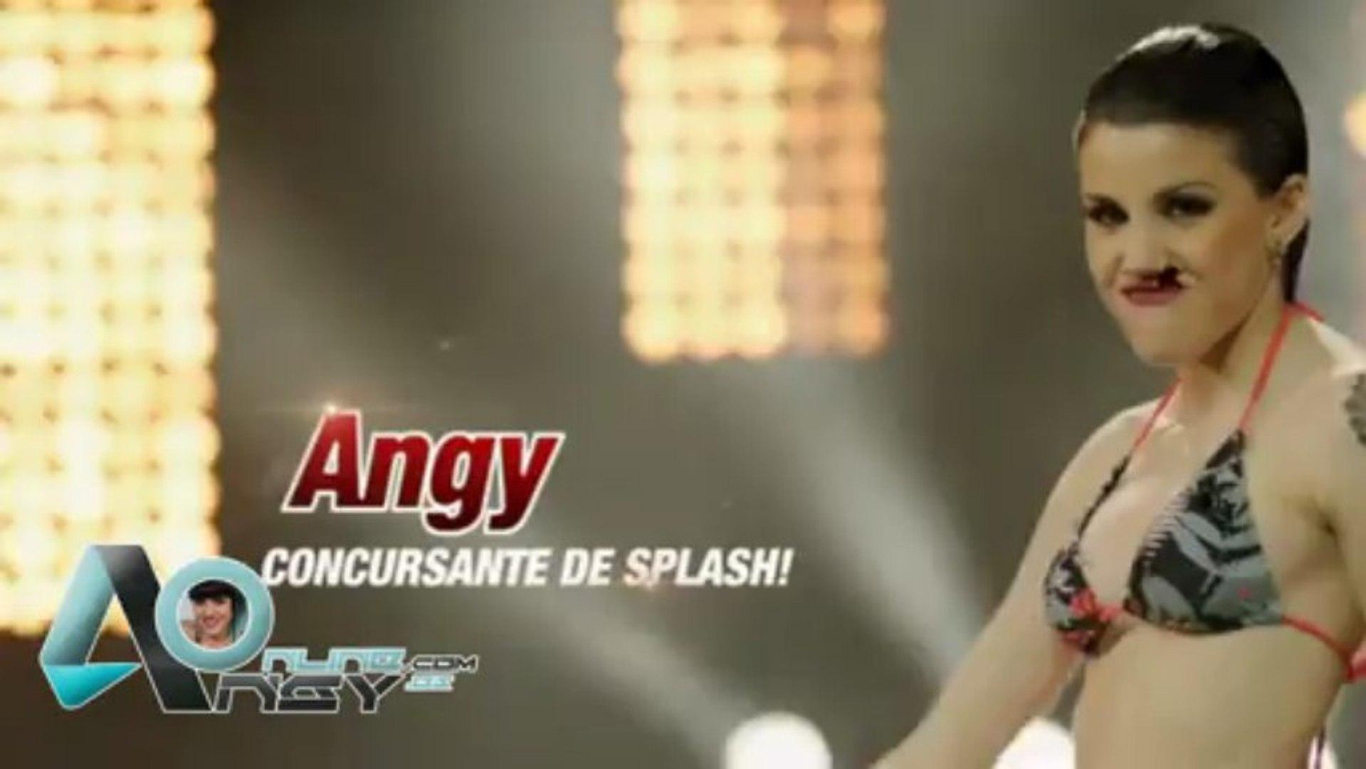 Angy Fernández Videos Porno angy se pone el bikini para saltar en 'splash'