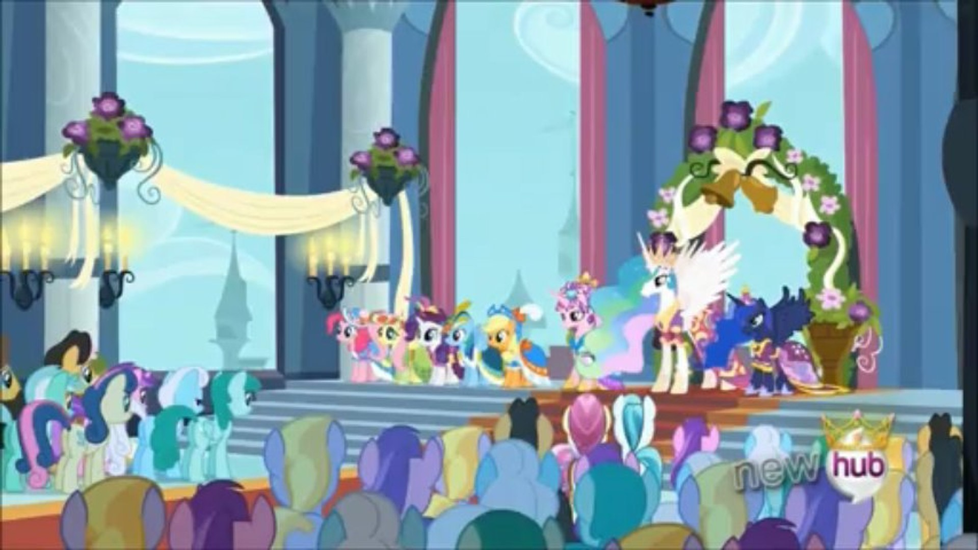 Some Reactions To Mlp Fim S3e13 Magical Mystery Cure Video Dailymotion