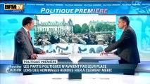 Politique Première: les partis politiques n'étaient pas les bienvenus lors de l'hommage à Clément Méric - 07/06