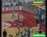 Παναθηναϊκός-Ολυμπιακός 79-63 5ος Τελικός 2001