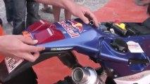 Vidéo : Cyril Despres nous présente sa moto d'usine !