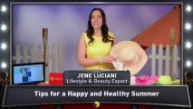 Jene Luciani's Tips for a Healthy Summer