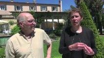 Rencontre avec Alain Calliste et Anne Claude Jeitz aux Flâneries d'art contemporain d'Aix en Provence