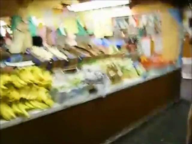 [字幕なし]レン先生のアメリカ滞在レポート ザーンズ市場inペンシルバニア USA