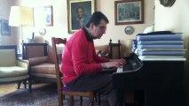 La javanaise - Serge Gainsbourg - Piano