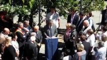 7 Juin 2013-4/5- Inauguration d'un lieu de Mémoire à Aix en Provence- Allocution M. René Andres