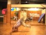 performance danse hip-hop Breakdance and Bboy-Nanou