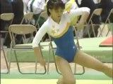 体操 田中理恵 高校時代床演技(音声なし)