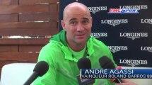 """Roland Garros / Agassi: """"Nadal ne pourra pas être égalé"""" - 09/06"""