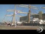 L'Armada di Rouen riunisce in Normandia navi più belle del mondo. Ospite d'onore il Kruzenstern, il più grande veliero in attività
