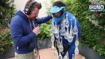 Le défi d'Elliot - Tirer sur Elliot habillé en bombe à eau humaine