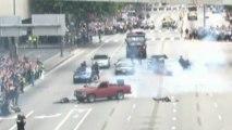 'Terrorists killed in LA street' during anti-terror drill