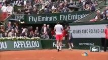 Roland Garros 2013 - des fumigènes pendant la finale