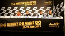 24 Heures du Mans Test - 9 June - LMGTE Press Conference