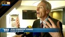 """Postes supprimés à Michelin: éviter """"une situation compliquée à l'avenir"""", dit Senard - 10/06"""