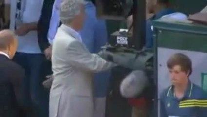 Roland Garros : Jo-Wilfried Tsonga ne répond pas sans les caméras !