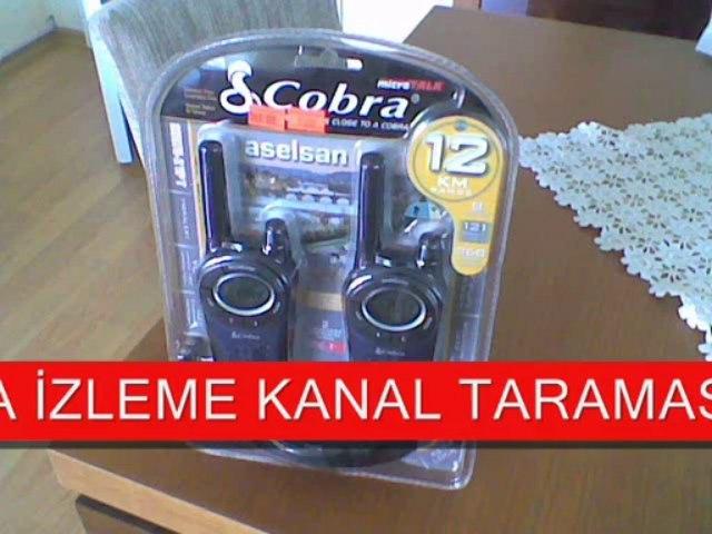 ASELSAN COBRA MT-975 PMR LİSANSSIZ TELSİZ