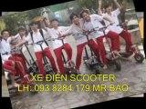 xe scooter chạy bằng điện , xe scooter , xe điện mini scooter giá rẻ