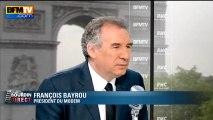 François Bayrou, invité de Bourdin Direct sur BFMTV - 110613