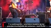 La banda pop-rock 'Jack Knife' gana el II concurso 'Leganés con Ritmo'