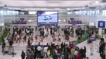 Grève des aiguilleurs du ciel : un quart des vols annulés