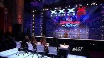 Lévitation impressionnante dans America's Got Talent