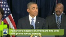 United States Government Secrecy News Byte: Poll Shows Majority of Americans Fine With NSA Phone Record Tracking