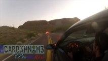 M3 car dive into a Cliff!