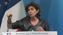 Remise du rapport sur l'agro-écologie par Marion Guillou