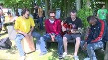 Danakil en session acoustique aux Francos Gourmandes 2013