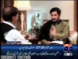 Former DG ISI Gen. (R) Ahsaan-ul-Haq's interview with Saleem Safi in Jirga on Geo (Part 01 of 02)