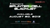 Wii U - Splinter Cell Blacklist - Spies Vs. Mercs Trailer
