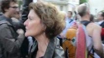 Mariage gay manifestation et contre manifestation / Saint-Cloud 12 juin 2013 ©Line Press