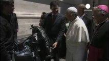 Pope offers 'biker blessing' to Harley- Davidson fans