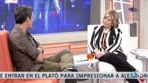 Alejandro Sanz y Maria Teresa Campos. Entrevista
