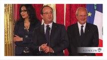 Zapping politique : Jamel et Hollande, bataille de blagues à l'Elysée
