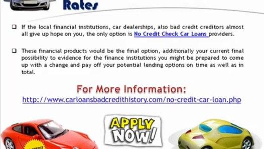 No Credit Check Car Loans >> Guaranteed No Credit Check Auto Loans With All Types Of