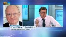 """Affaire Tapie: """"Laissons Stéphane Richard travailler"""" Christian Cambier, Intégrale Bourse - 13 juin"""