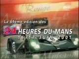24 Heures du Mans 2001 - Résumé VF