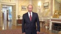 Путин говорит по-английски- Обращение к делегатам Генеральной ассамблеи Международного бюро выставок - видео МК ТВ (8 комментария) МК