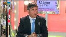 Bertrand Bélinguier, président de France Galop dans Le Grand Journal - 13 juin 4/4