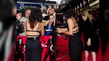Sandra Bullock Shows Off Her Built-In Bra Under a Backless Dress at The Heat London Premiere