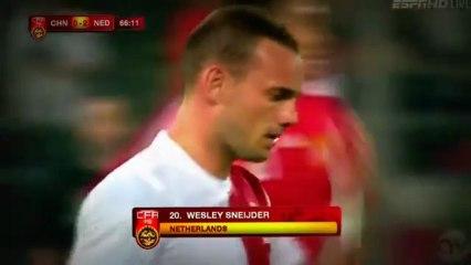 Foot : Magnifique talonnade réalisée par Sneijder !