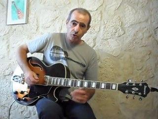 (2) Cours de guitare comment jouer Paint it black(R.STONES) Fingerpicking