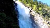 Boucle - cascades d' Ars - Etang de Guzet - cascades du Fouillet