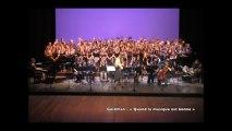 Extraits vidéos - concert du lycée T. Aubanel (Académie d'Aix-Marseille) - Avignon 05 mai 2013