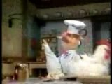 Muppets - Swedish Chef makes chicken