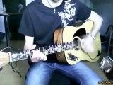 l' horloge tourne mickael miro guitar cover